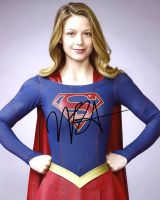 Melissa Benoist from the TV series SUPERGIRL