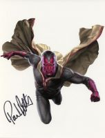 Paul Bettany from the movie THE AVENGERS (private signing)