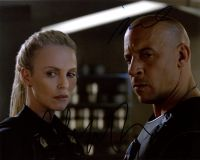 Vin Diesel / Charlize Theron from the movie THE STATE OF THE FURIOUS