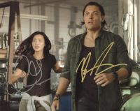 Blair Redford / Jamie Chung from the TV series THE GIFTED