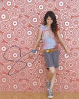 Selena Gomez from the TV Series WIZARDS OF WAVERLY PACE