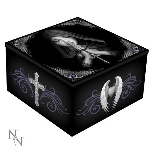 Gothic Prayer Mirror Box 10cm