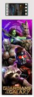 Guardians of the Galaxy FilmCell (Team) Bookmark