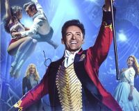 Hugh Jackman from the movie THE WORLD'S GREATEST SHOWMAN