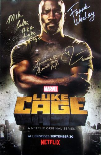 Colter / Whaley / Missick / Rossi LUKE CAGE (private signing)