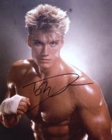 Dolph Lundgren from the movie ROCKY 4
