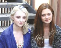 Evanna Lynch / Bonnie Wright from the HARRY POTTER movies - private signing