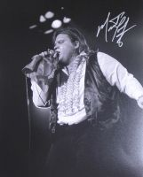 Meatloaf 11x14  **  Private Signing  **