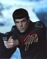 Zachary Quinto from the movie STAR TREK BEYOND