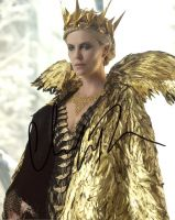 Charlize Theron from the movie THE HUNTSMAN WINTERS WAR