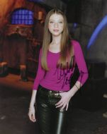 Michelle Trachtenberg from the TV series BUFFY THE VAMPIRE SLAYER - (Earn 5 reward points on this item worth $1.25)